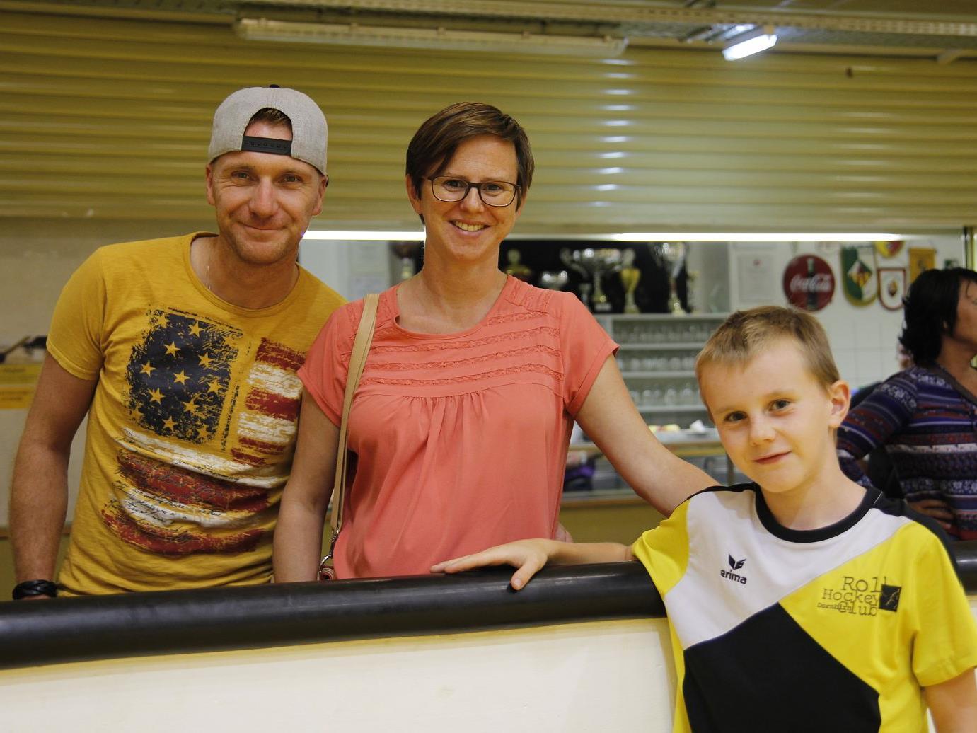 Begeisterte Spieler und Zuschauer gab es wieder beim internationalen Rollhockeyturnier des RHC Dornbirn.