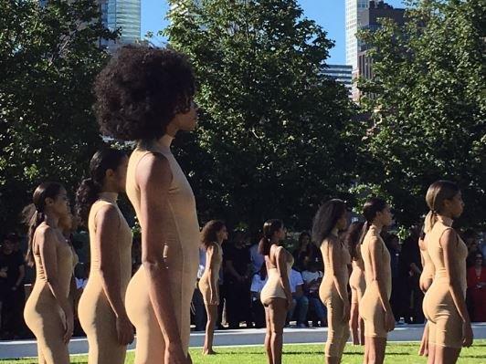 Wird heiß diskutiert: Die Fashion-Show von Kanye West in New York.