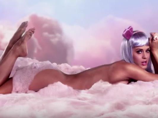 """California Gurls"" - Sängerin Katy Perry."