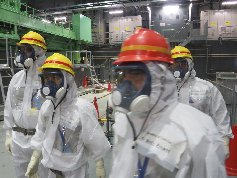 Menschen wagen sich kaum in das kontaminierte Gebiet