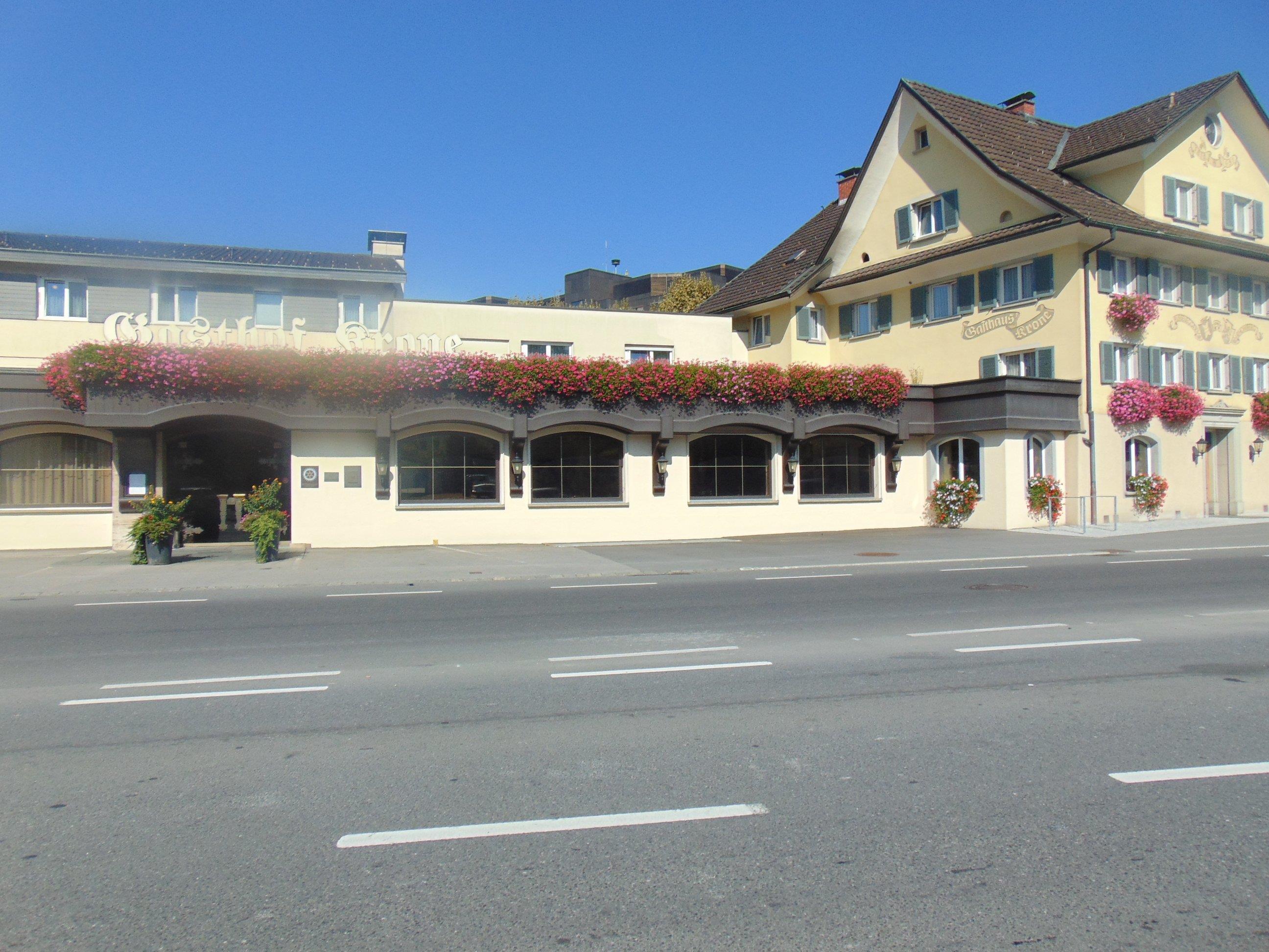 Das Restaurant Krone erstrahlt in neuem Glanz