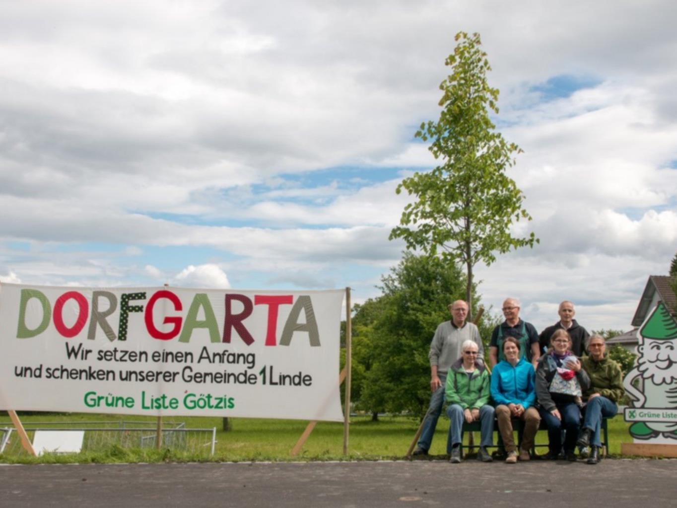 Vor zwei Jahren forderten die Grünen, mit einer Linde als Geschenk, einen Park im Norden des Garnmarkts.