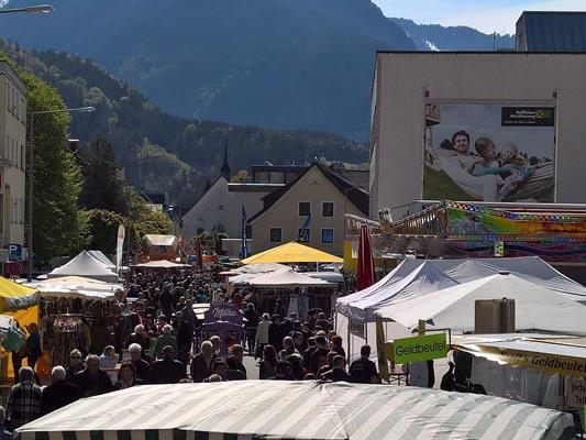 Der große Herbstmarkt steht am 1. und 2. Oktober auf dem Programm.