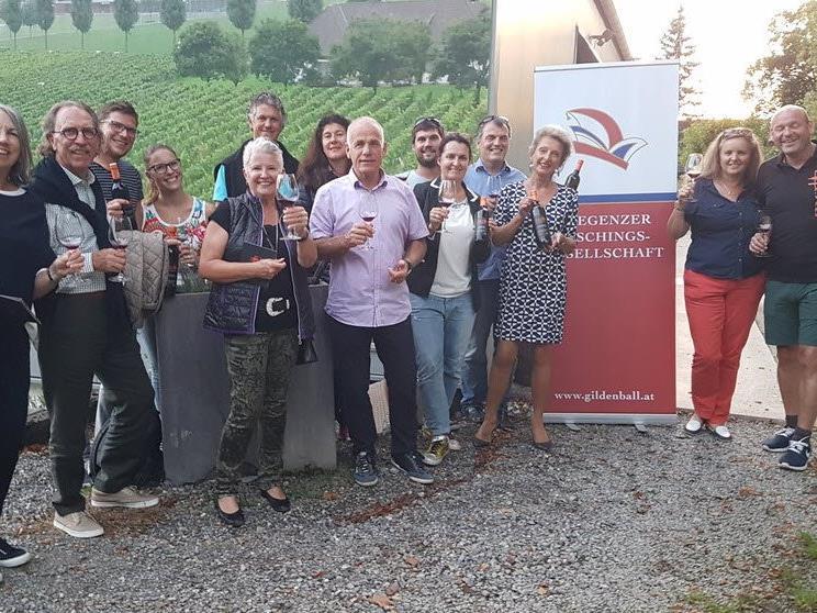 Weinverköstigung in Bregenz