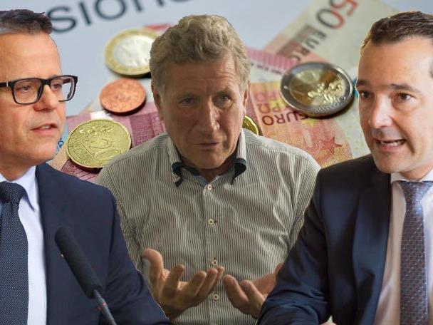 Pensionbezüge von Politikern sorgen für Politik-Streit