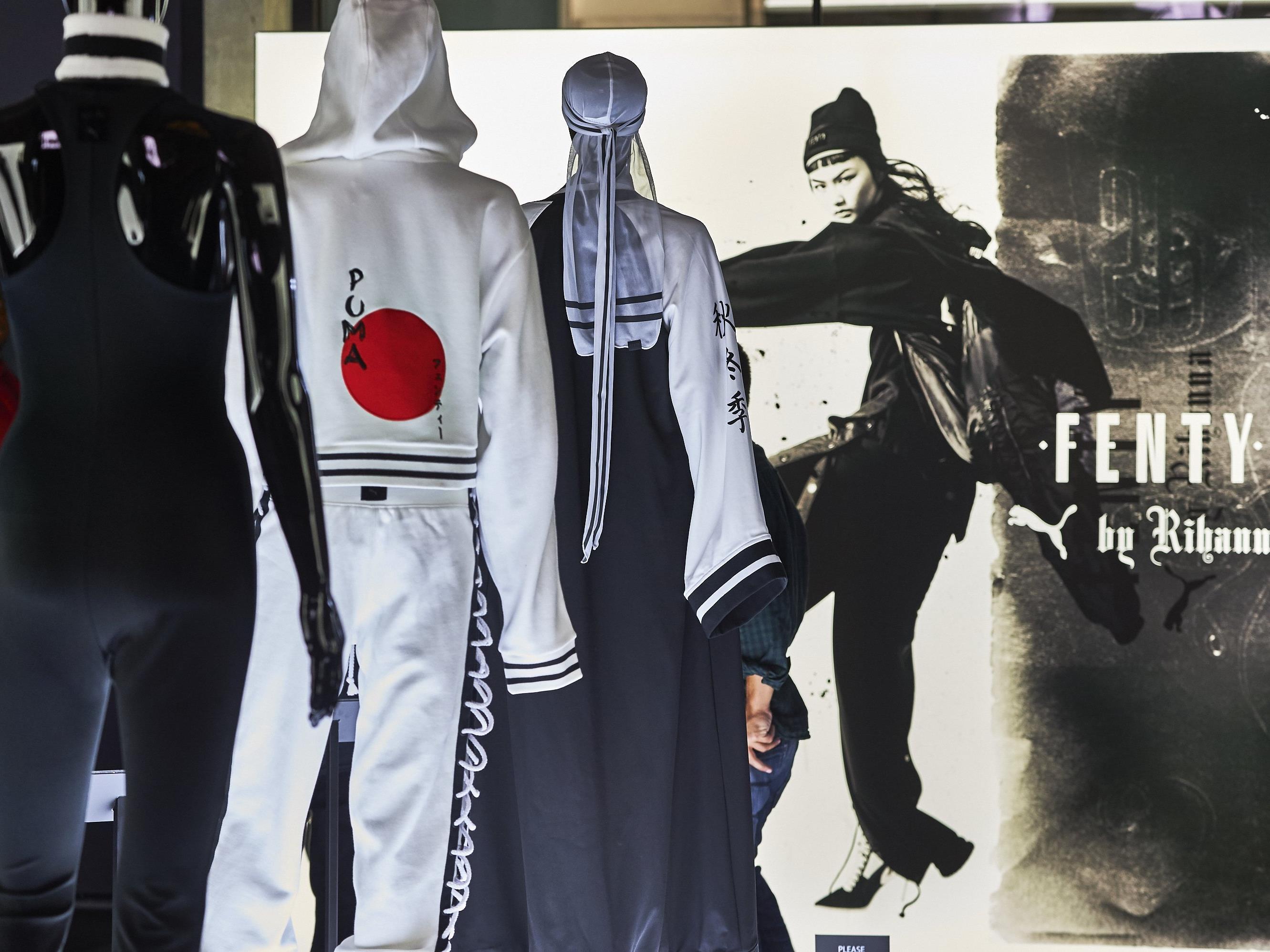 Rihanna präsentierte ihre neue Modekollektion.