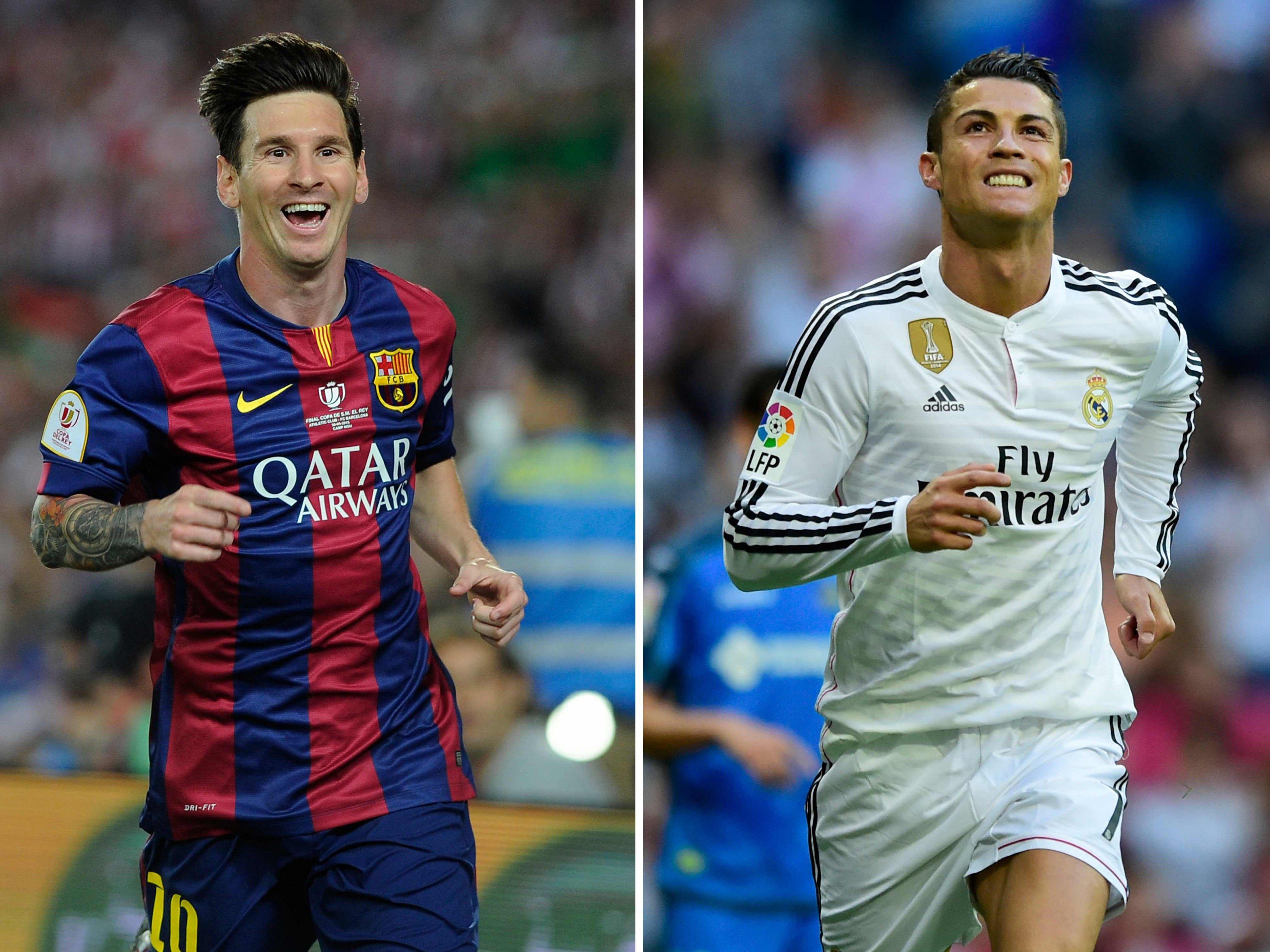 Wer verdient mehr - Messi oder Ronaldo?