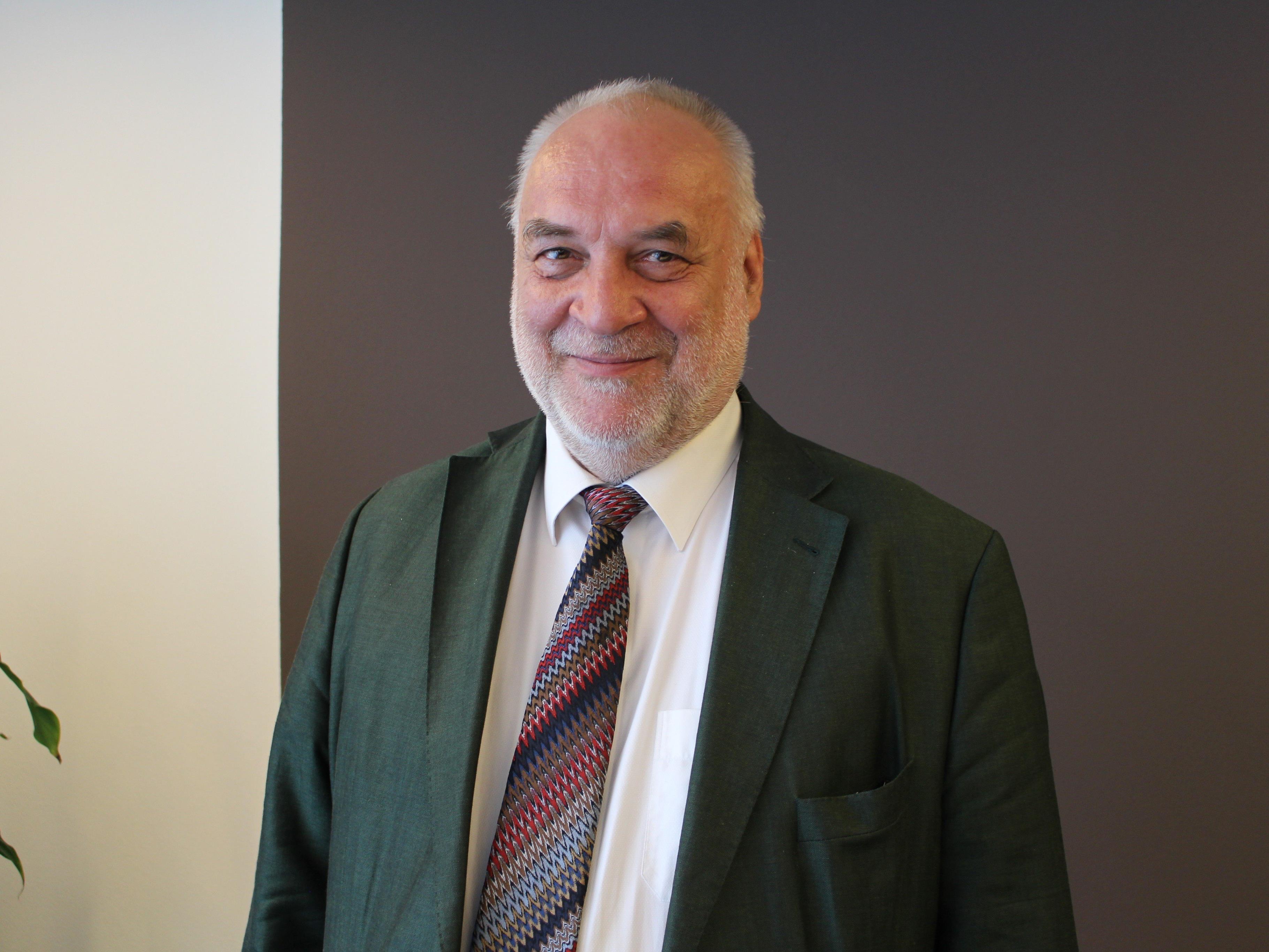 Im Oktober starten die Studien an der privaten Sigmund Freud Uni in Bregenz. Im Bild: Rektor Alfred Pritz.