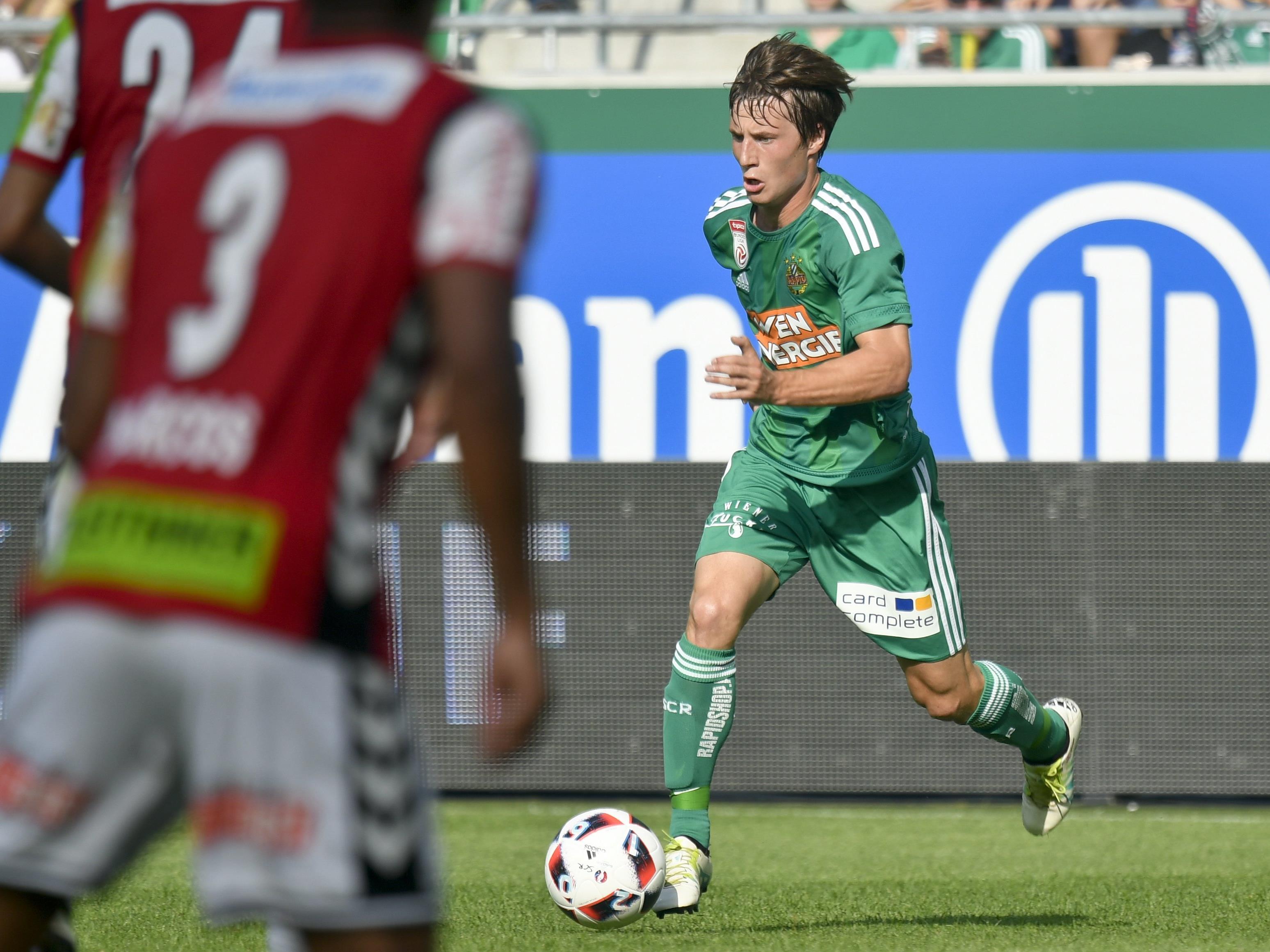 Rapid spielt am Sonntagnachmittag in der Bundesliga auswärts in Ried.