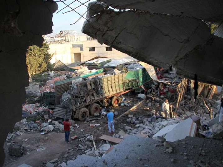 Die USA machen Russland für den Angriff auf einen Hilfskonvoi in Syrien verantwortlich.