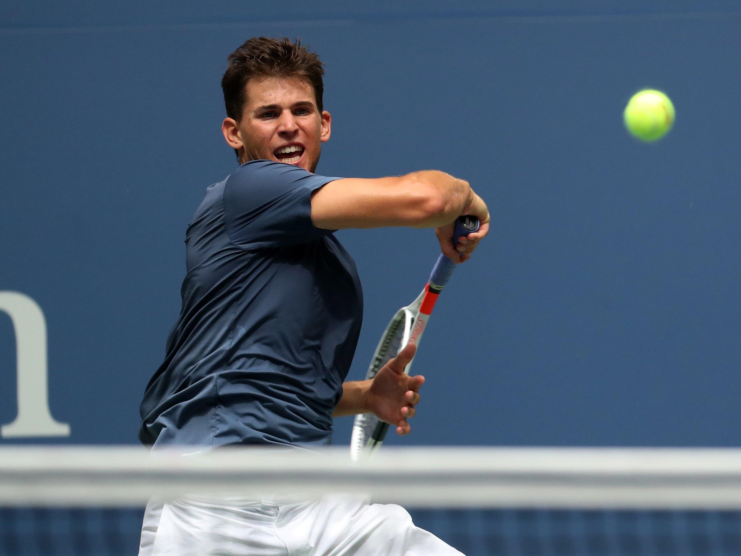 Dominic Thiem erreichte im französischen Metz sein erstes Hallen-Finale.