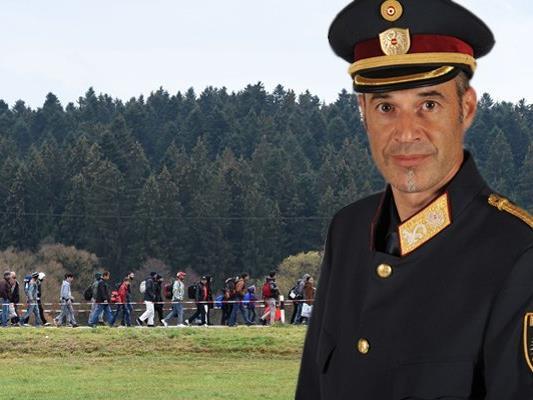 Der stellvertretende Landespolizeidirektor in Vorarlberg, Walter Filzmaier, bestätigt die aus der Schweiz kolportierten Flüchtlingszahlen.