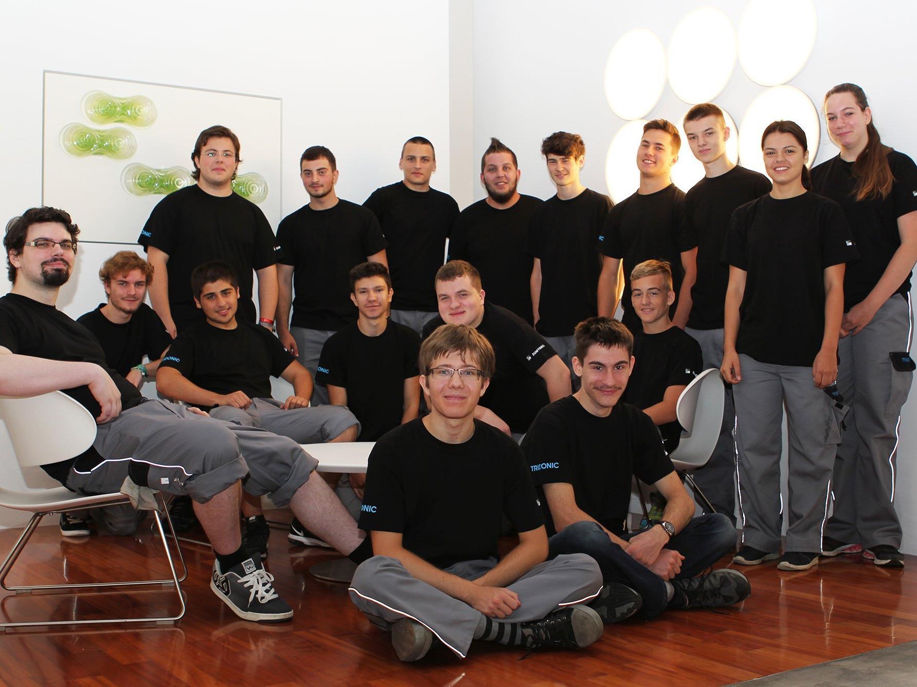 Start der Lehrausbildung bei der Zumtobel Group