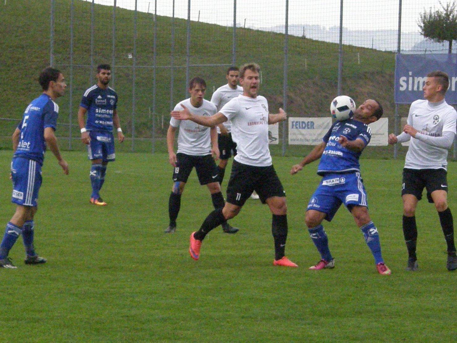 Reinaldo Ribeiro & Co. können nach zwei Siegen hintereinander in Bizau mit breiter Brust antreten.