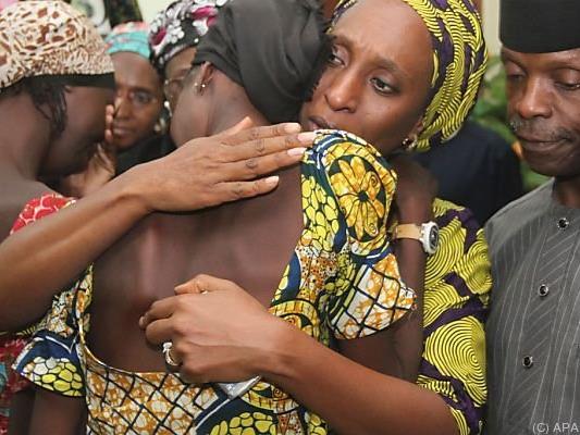 Die Mädchen wurden nach zweienhalbjähriger Gefangenschaft freigelassen.