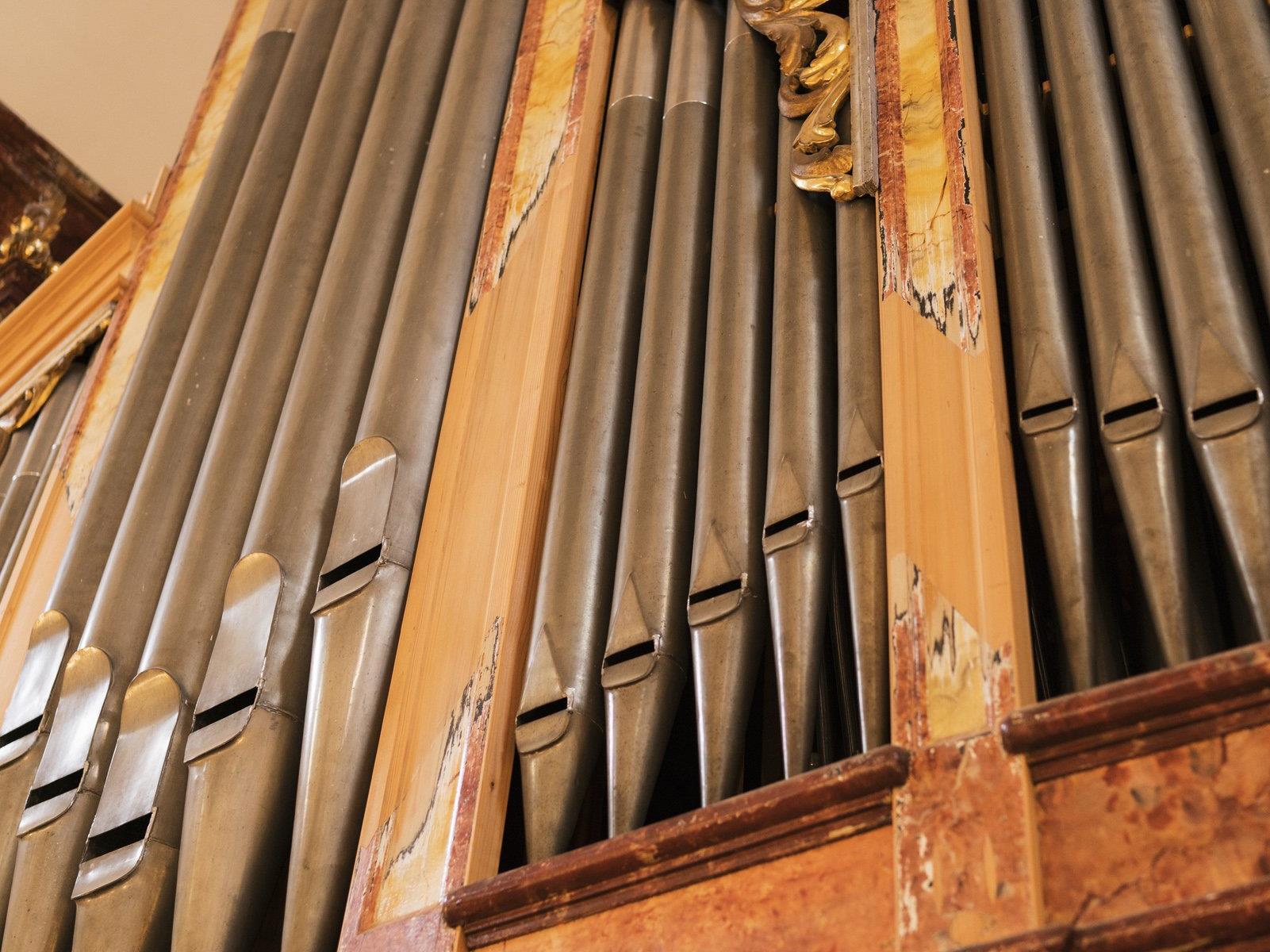 Die Orgel von Joseph Bergöntzle in Tschagguns feiert heuer ihr 200-Jahr-Jubiläum.