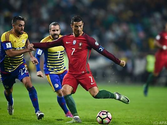 Ronaldo in Torlaune