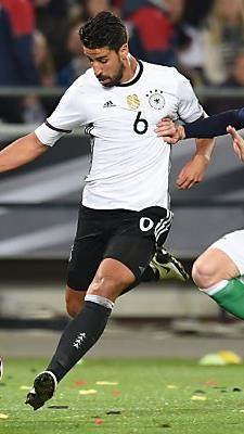 Sami Khedira ließ sich nicht abdrängen