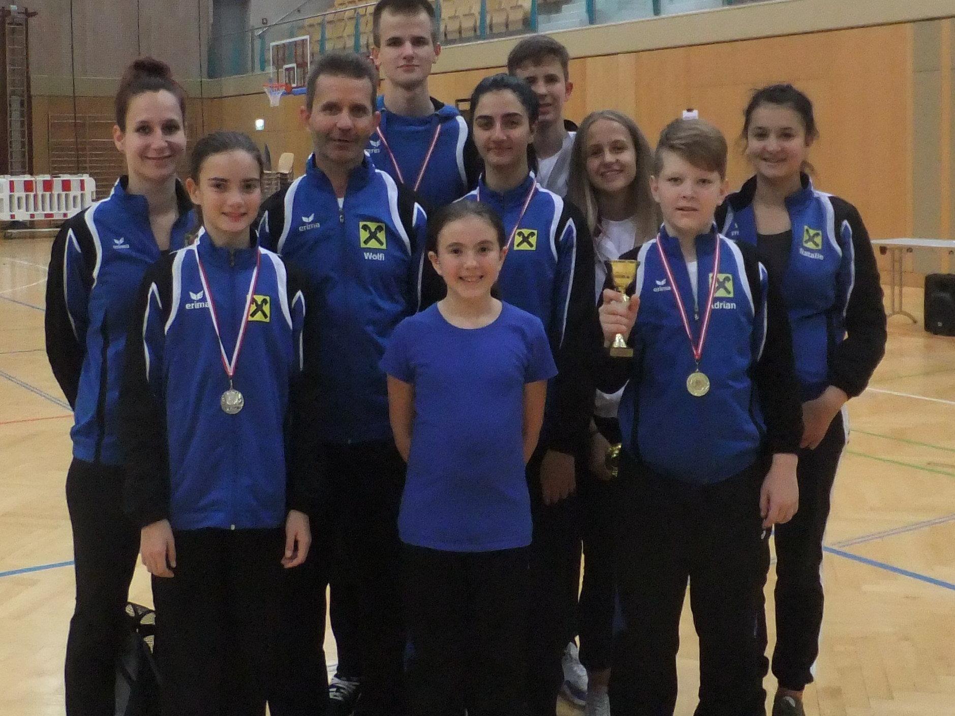 Team Sei Bu Kan beim Nachwuchscup in Salzburg