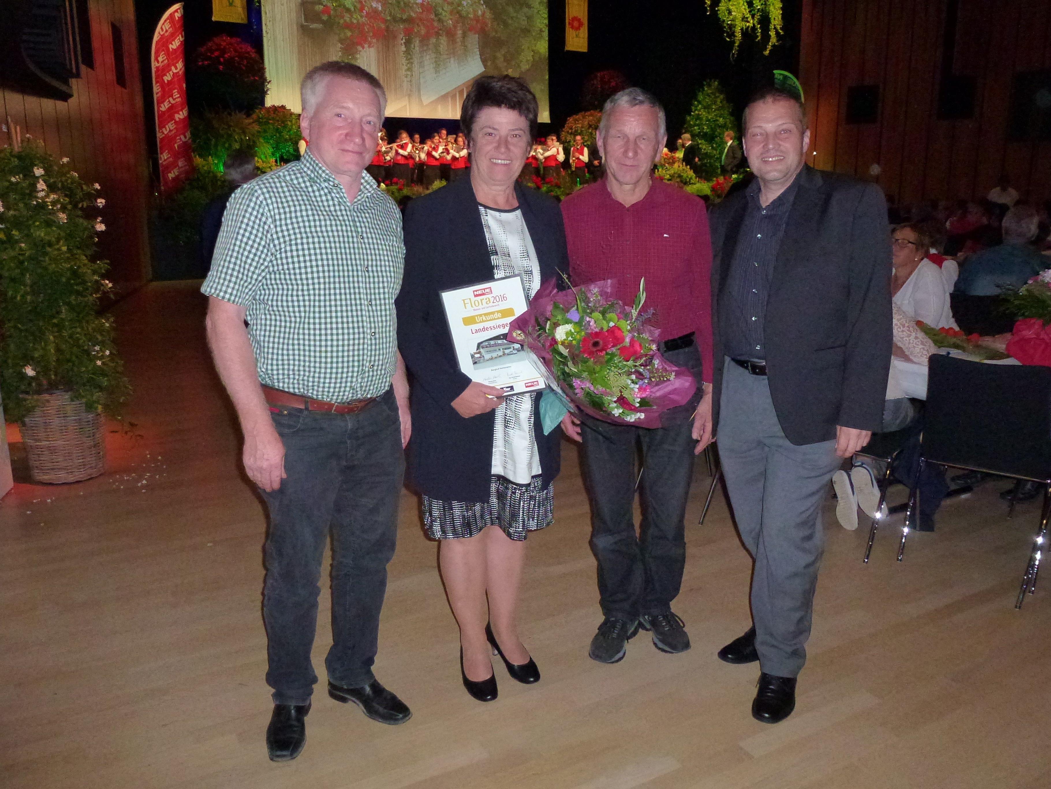 Hermann Klien, Edith Mathis, Gebhard Linder, Günter Mathis