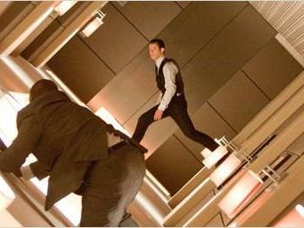 "Szene aus dem FIlm ""Inception"""