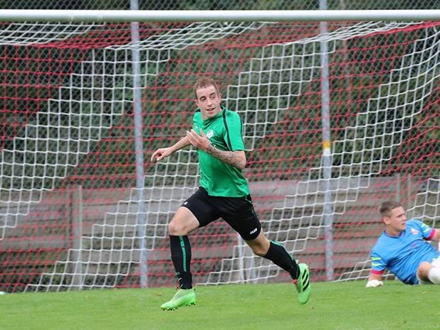 Winsauer Marcel erzielte den entscheidenden Treffer im Eins