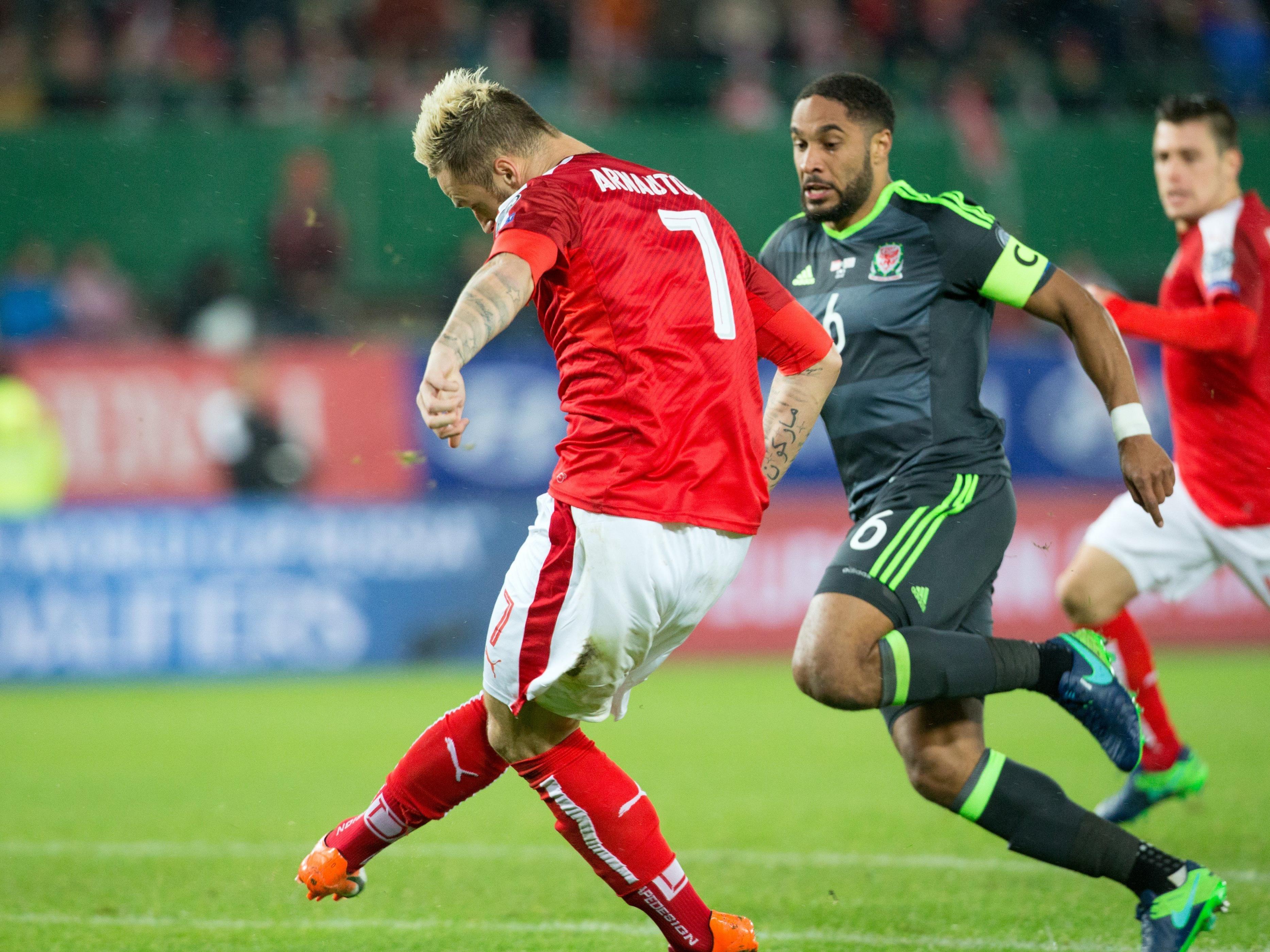 Marko Arnautović traf doppelt für Österreich.