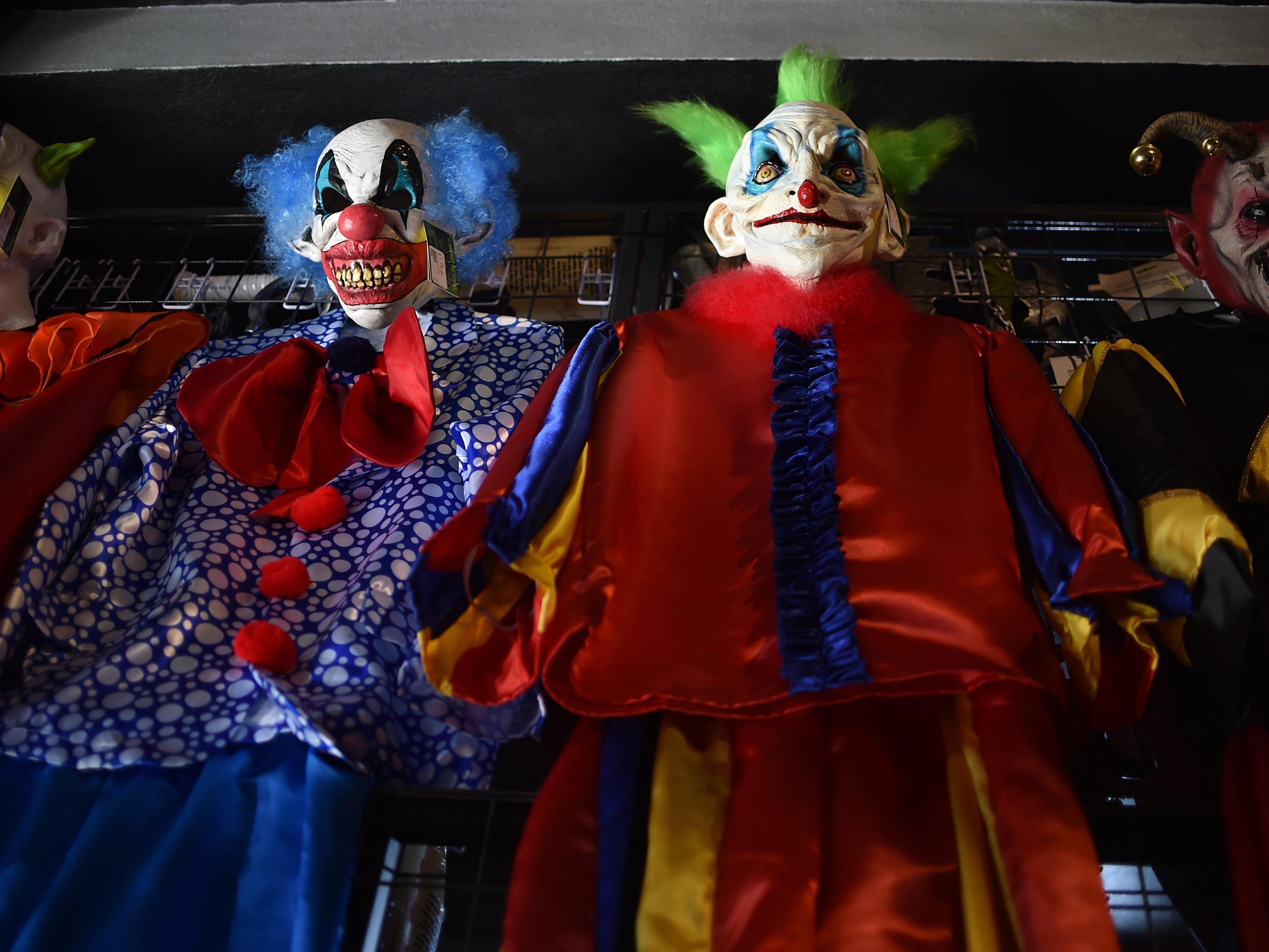 """An Halloween wird es dieses Jahr in Vorarlberg in manchen Locations """"Clown-Verbote"""" geben"""
