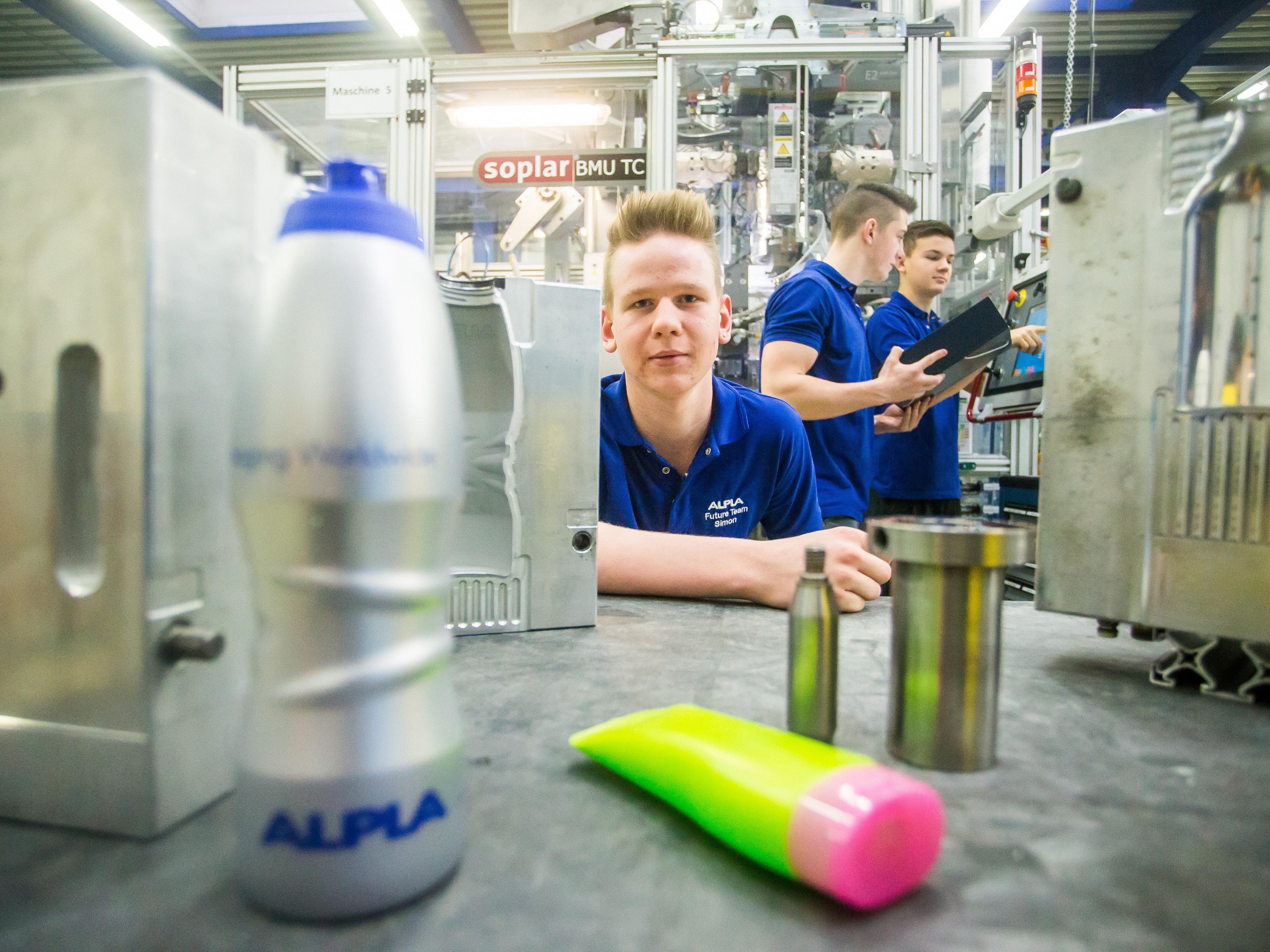 Alpla hat in Zusammenarbeit mit Henkel ein HDPE-Pilotprojekt durchgeführt.