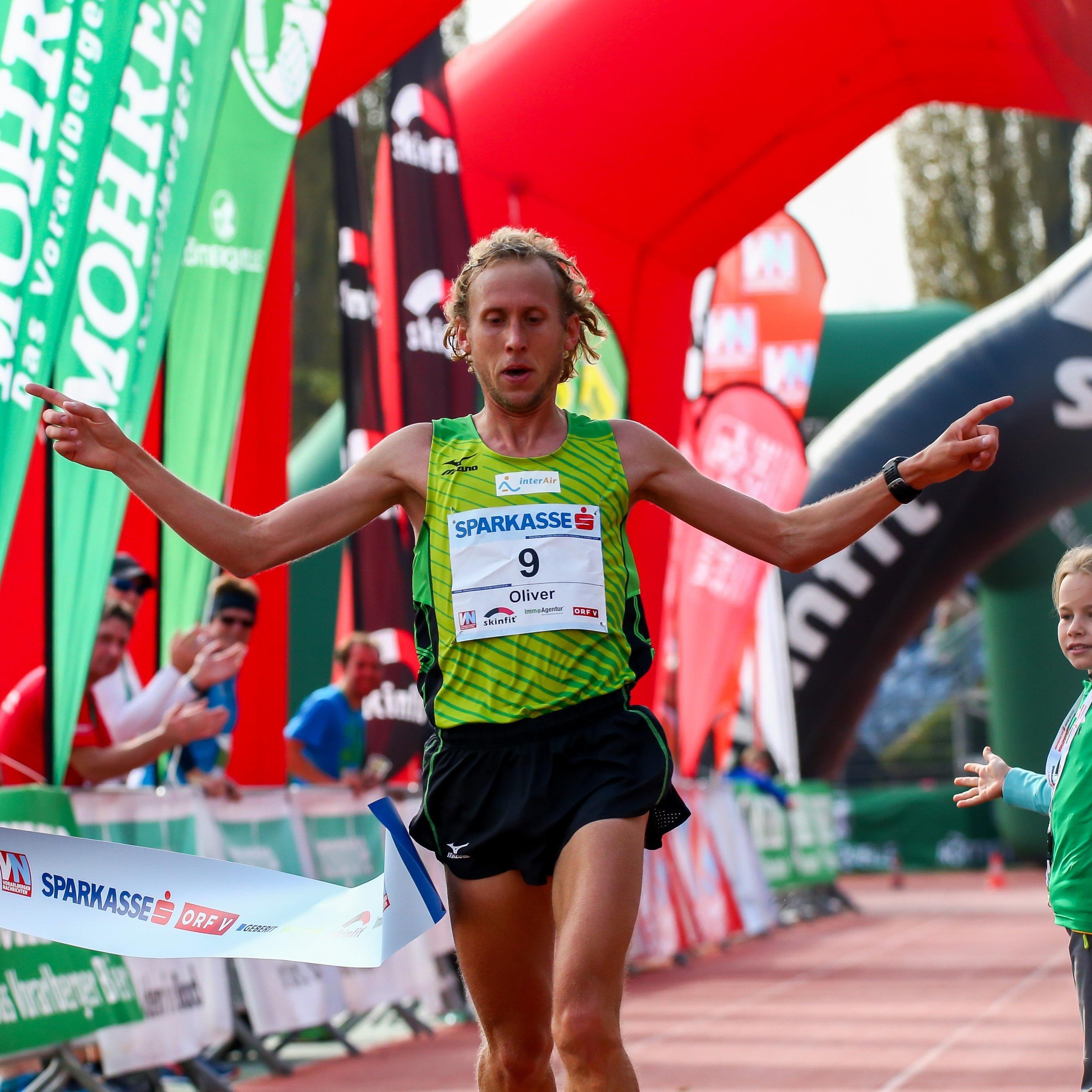 Oliver Hoffmann gewinnt den diesjährigen Marathon der Männer