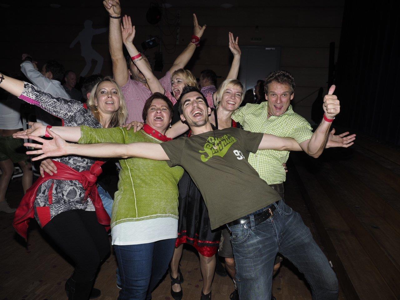 Partystimmung und gute Laune sind bei der Ü40 Party amKumma garantiert...