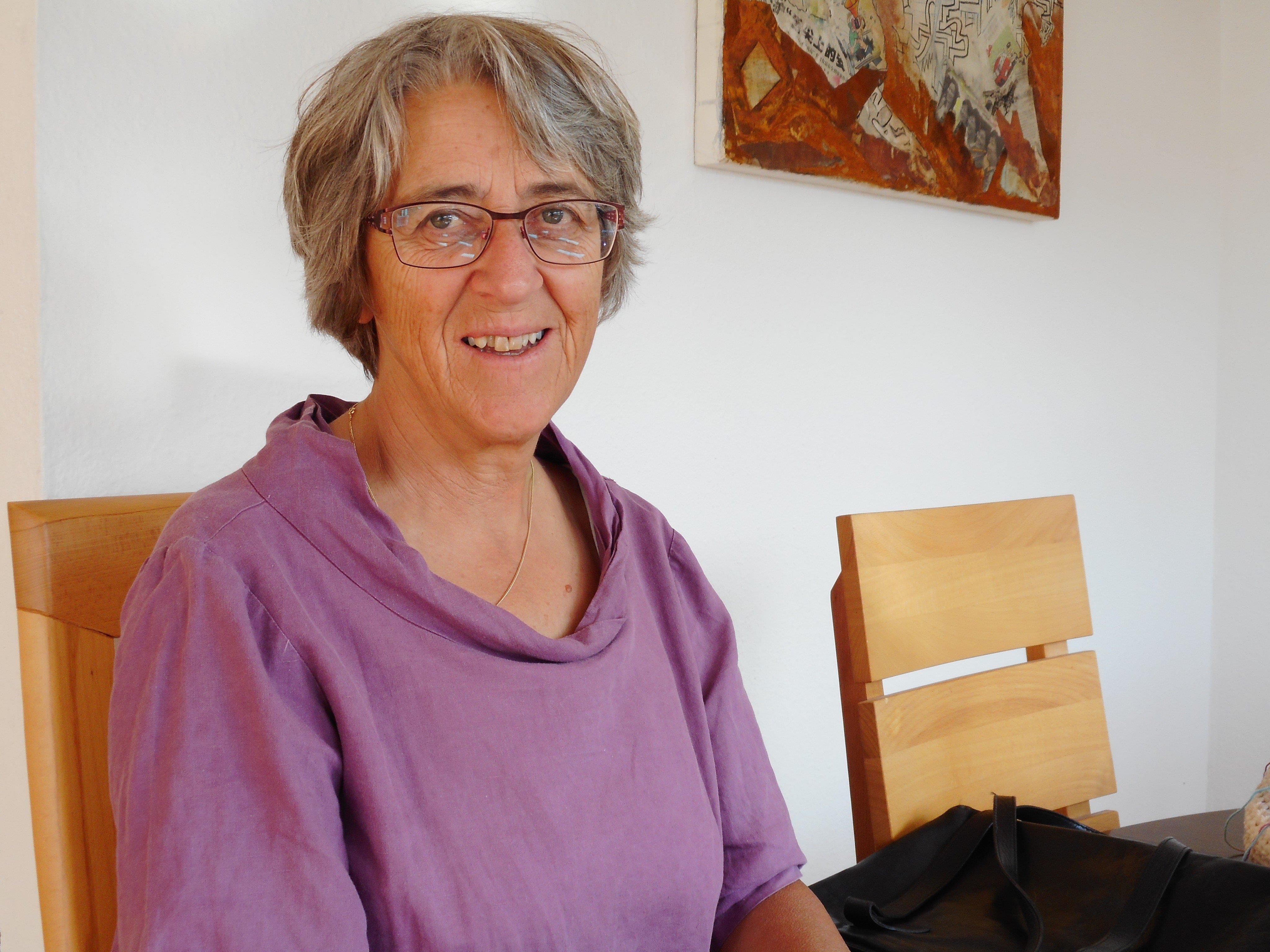 Barbara Kofler ist ehrenamtlich in der Flüchtlingsarbeit tätig.