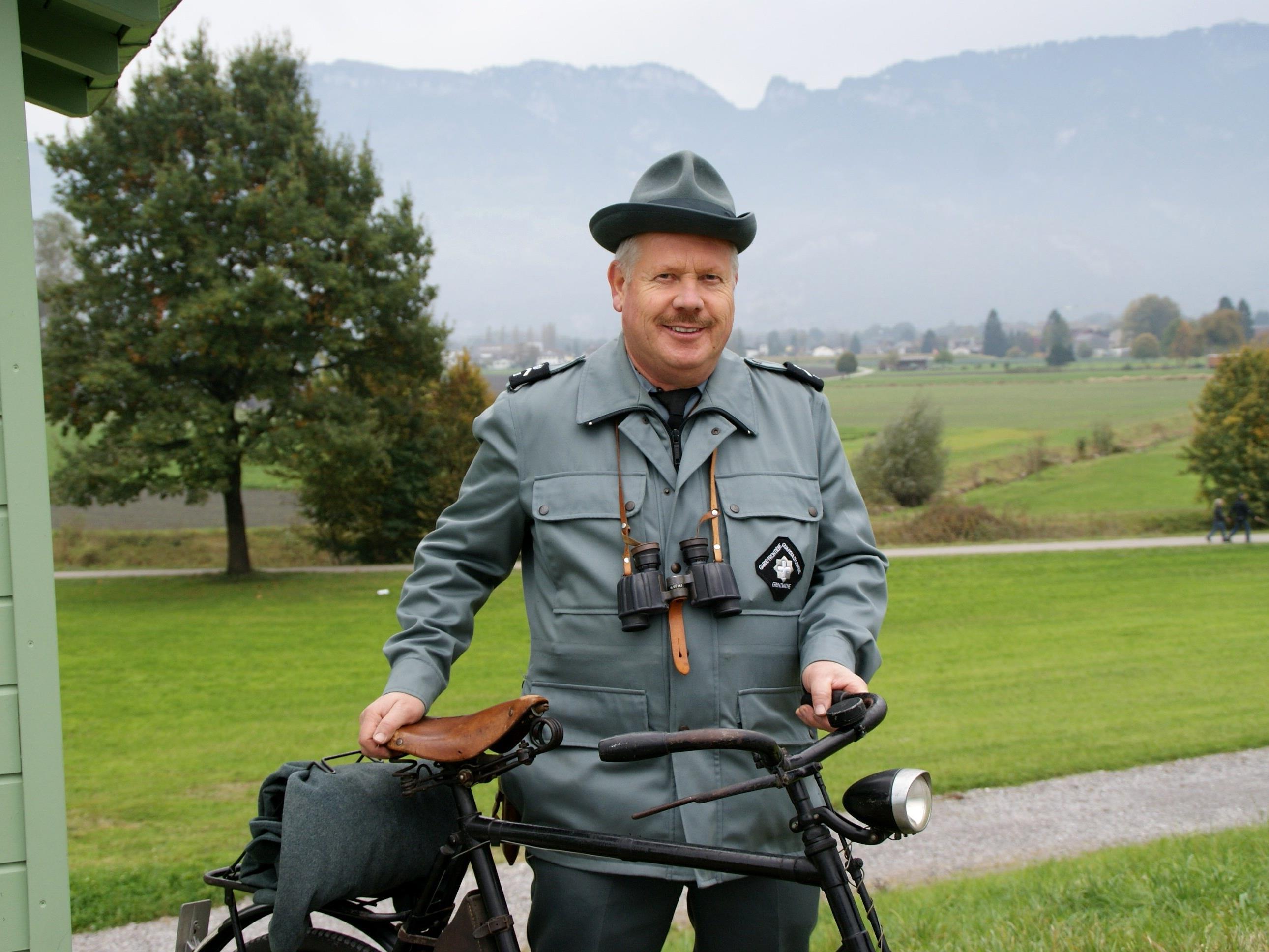 Emil Gwerder wartete an der Grenzerhütte
