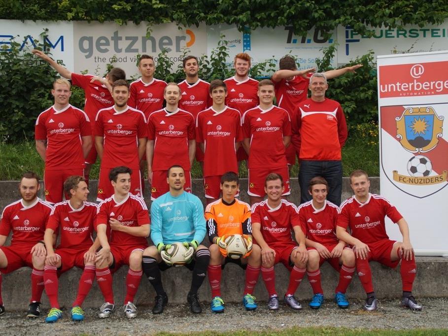 Kampfmannschaft Unterberger Automation FC Nüziders