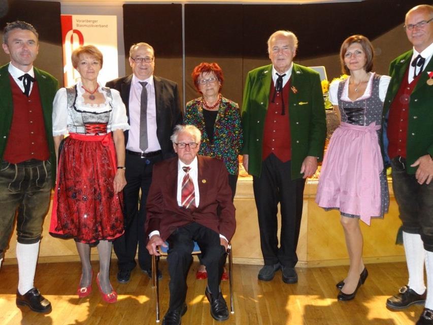 Musikantenpersönlichkeiten der HM Wald a. Arlberg