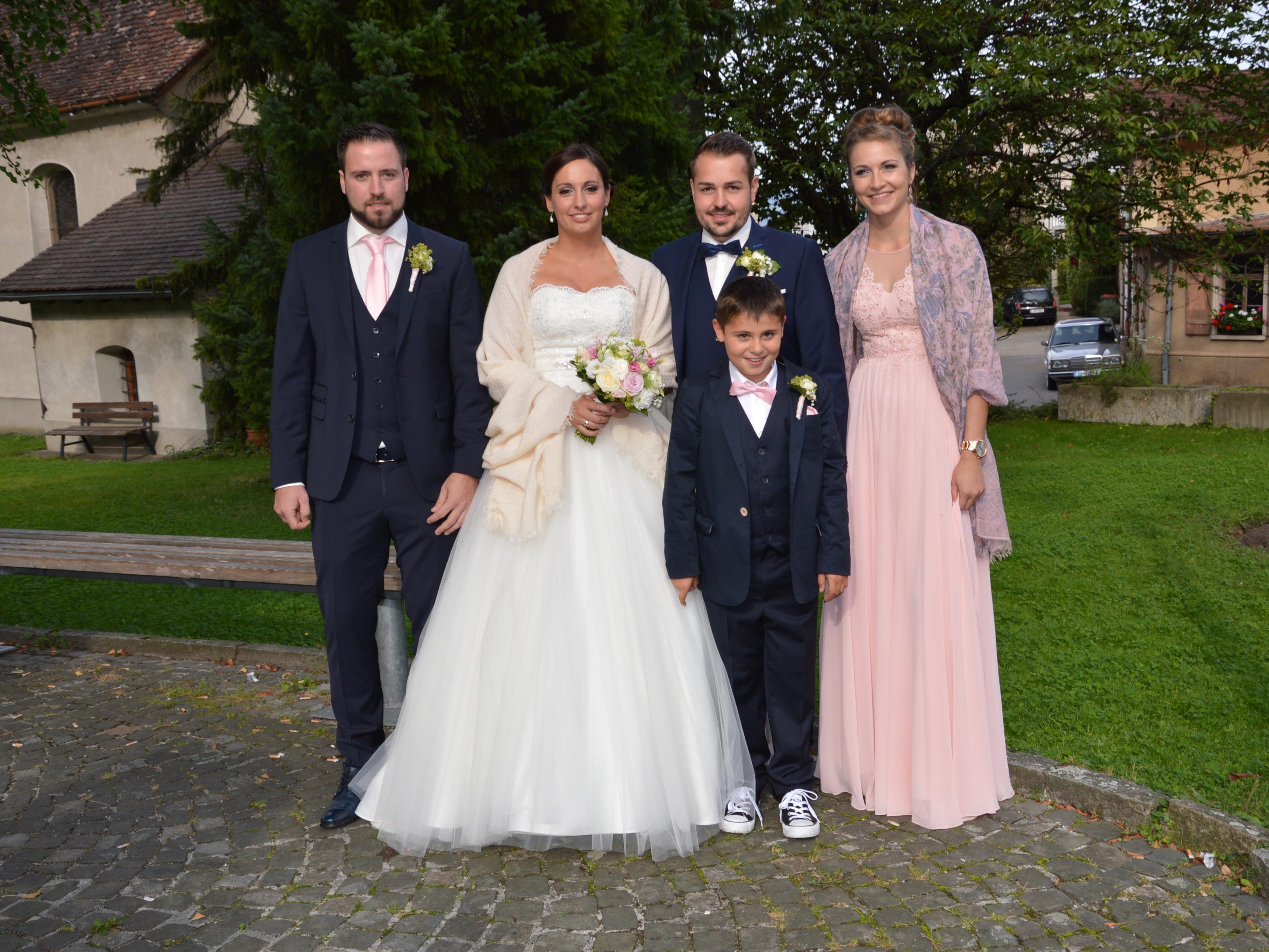 Nadine Amann und Florian Luger feierten Hochzeit