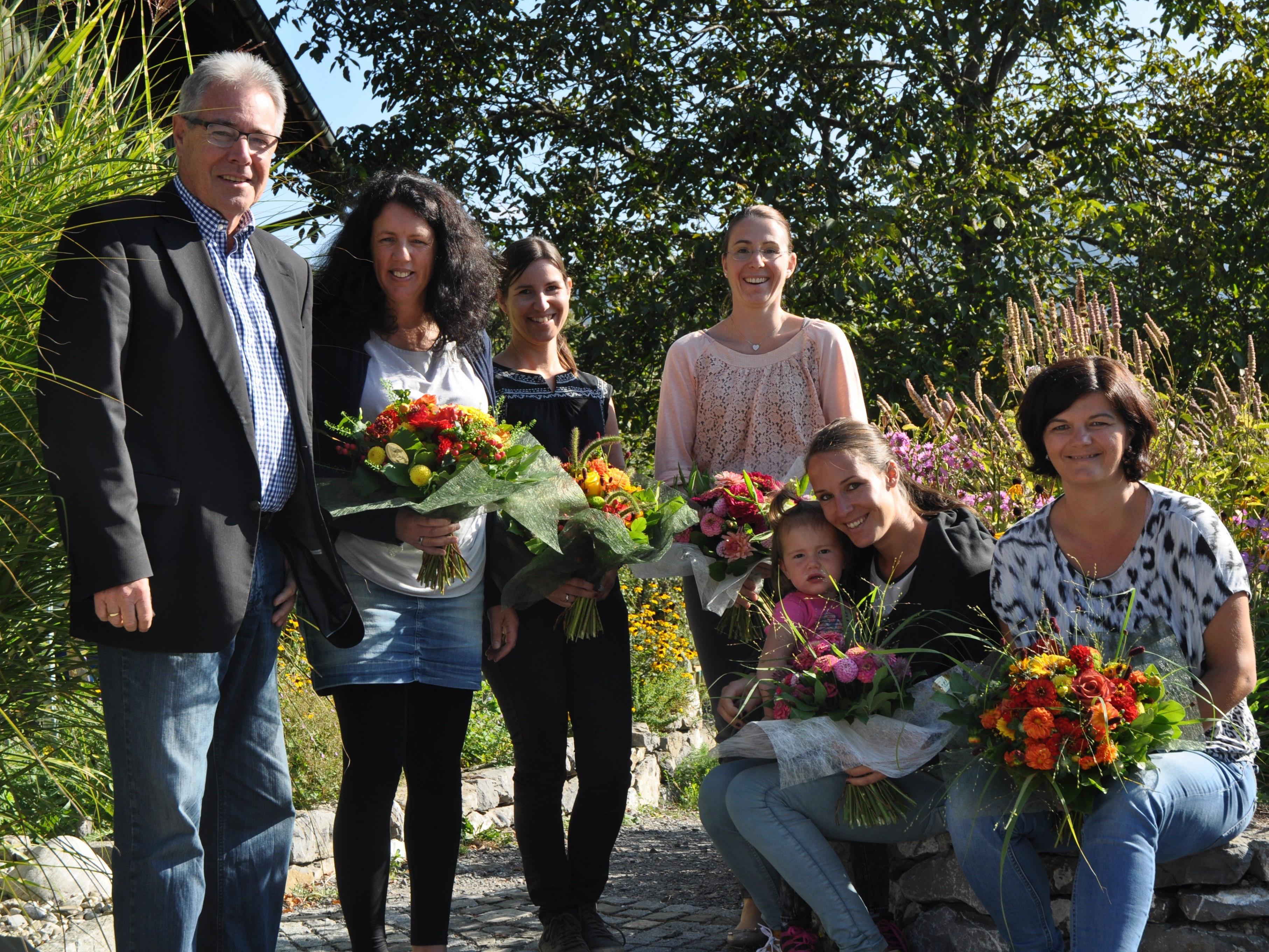 Bürgermeister Helmut Lampert bedankte sich bei den Kursleitern, die knapp 50 Ferienaktionen organisierten.