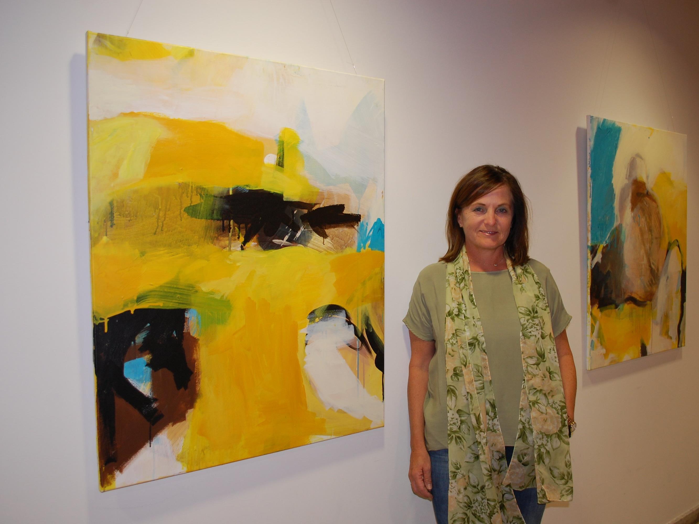 Zahlreiche heimische Künstler stellten ihre Werke einem breiten Publikum vor.