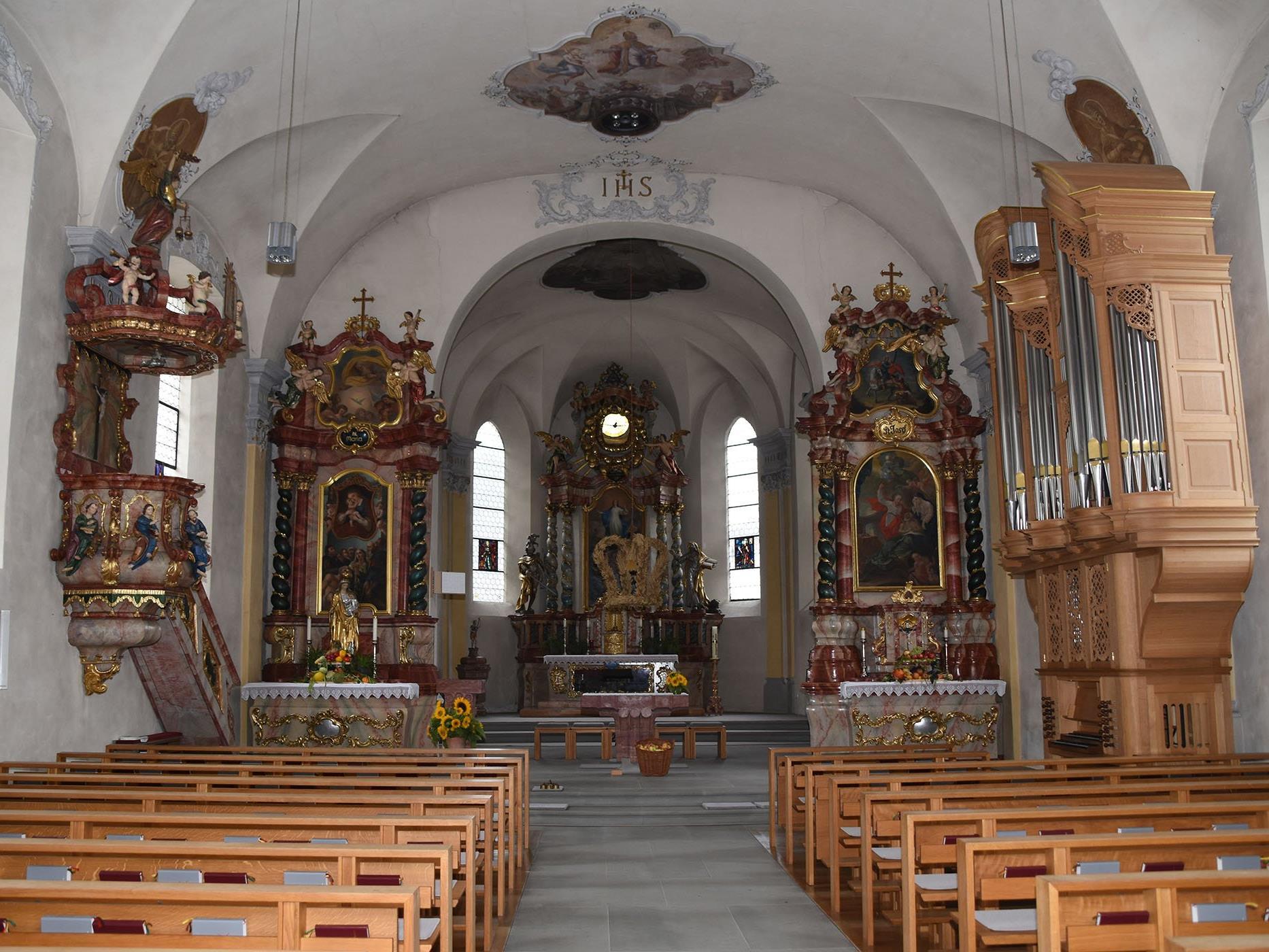 Konzert in der Pfarrkirche Nüziders am Sonntag, dem 9. Oktober 2016, um 17 Uhr