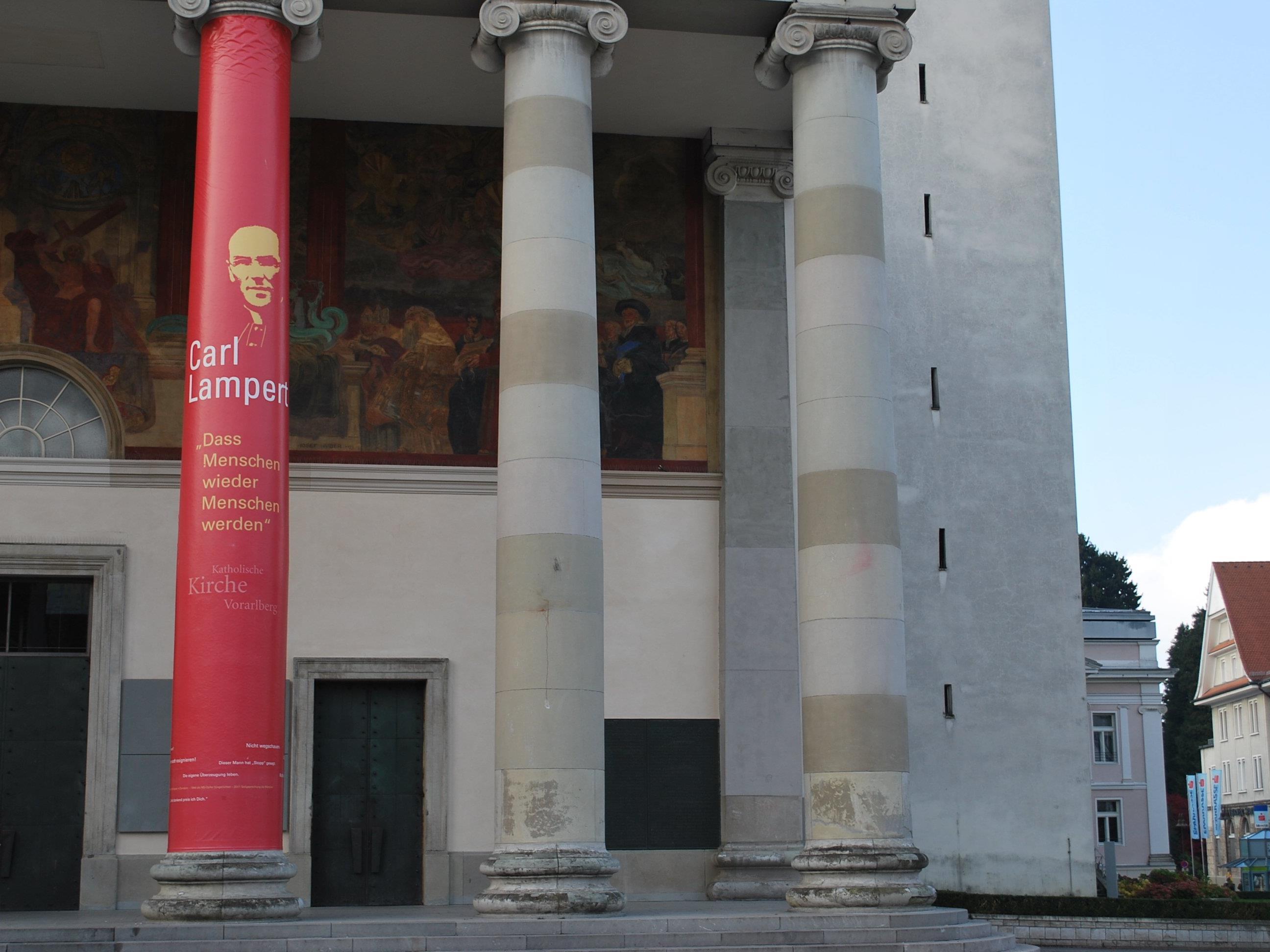 Am 13. November 2011 wurde Carl Lampert in der Dornbirner Stadtpfarrkirche St. Martin selig gesprochen.