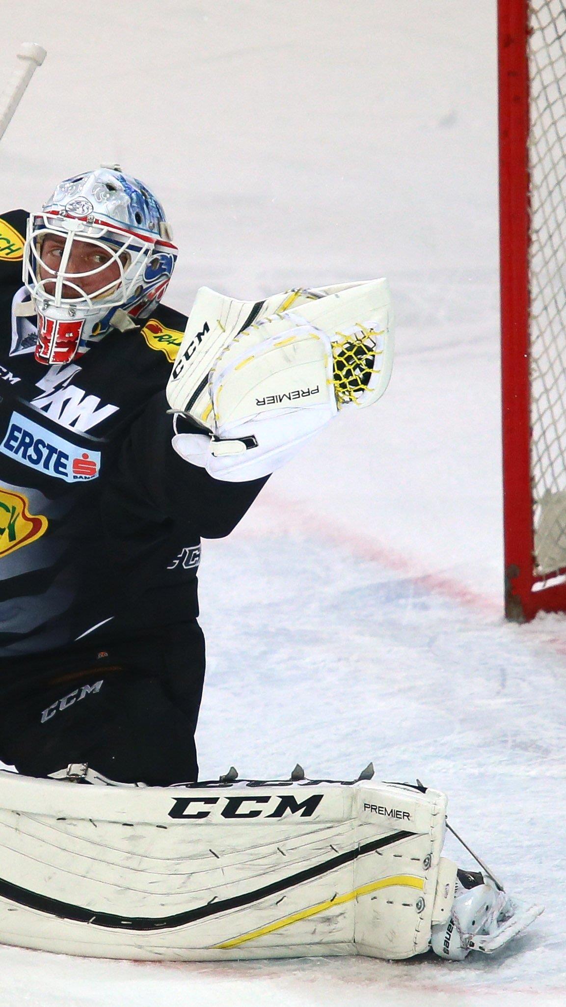 Torhüter Hardy zeigte in Bozen eine starke Leistung.