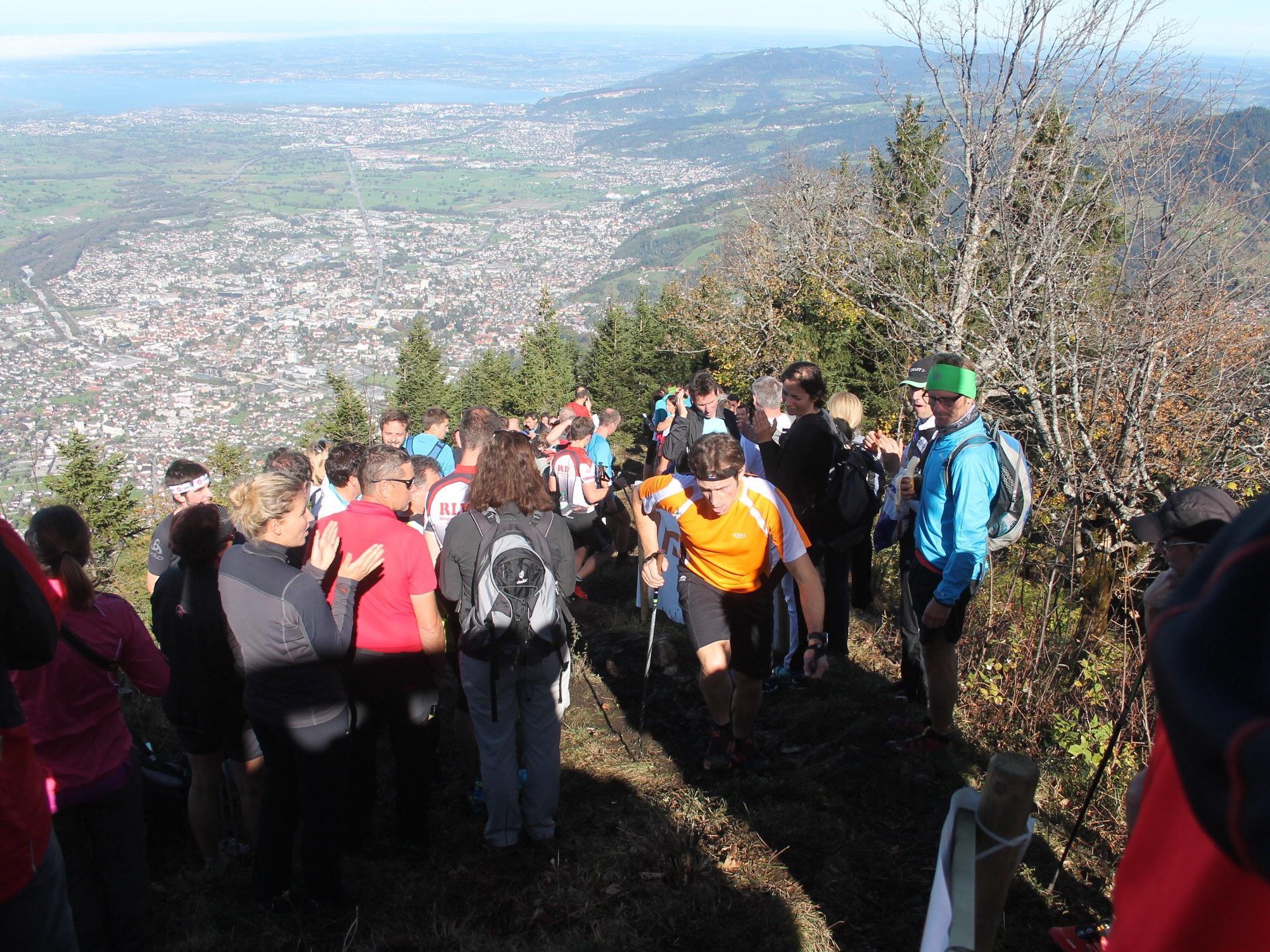 Kommenden Samstag steht der Staufen und die ambitionierten Bergläufer wieder im Mittelpunkt.