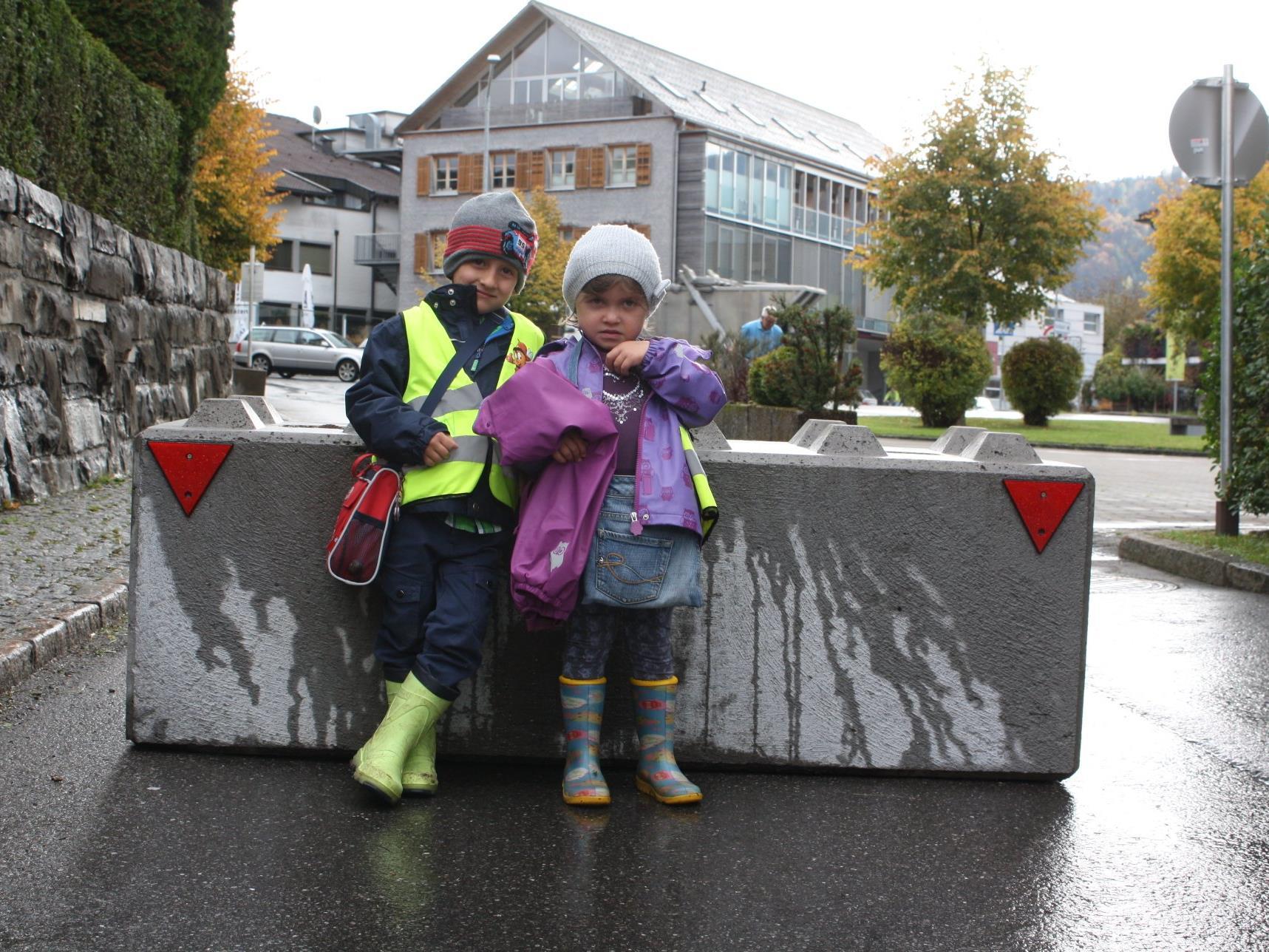 Die Kleinen profitieren von einem verkehrsarmen Weg in den Kindergarten.