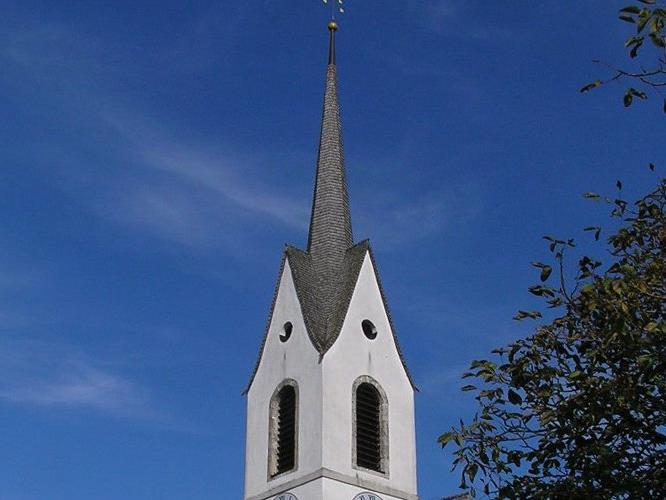 Dudelsackklänge in der Pfarrkirche St. Anton