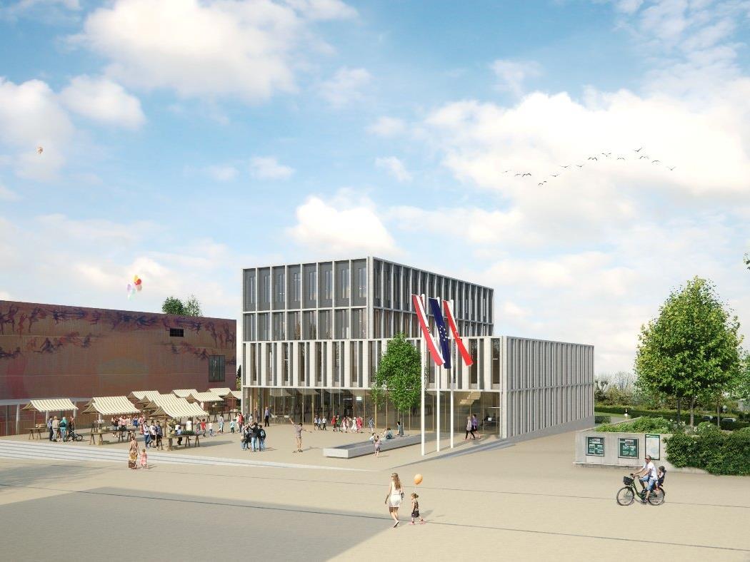 Das neue Gemeinschaftshaus garantiert eine bürgerfreundliche Gemeindeverwaltung, beherbergt wichtige Infrastruktureinrichtungen und schafft Vermögenswerte für künftige Generationen.
