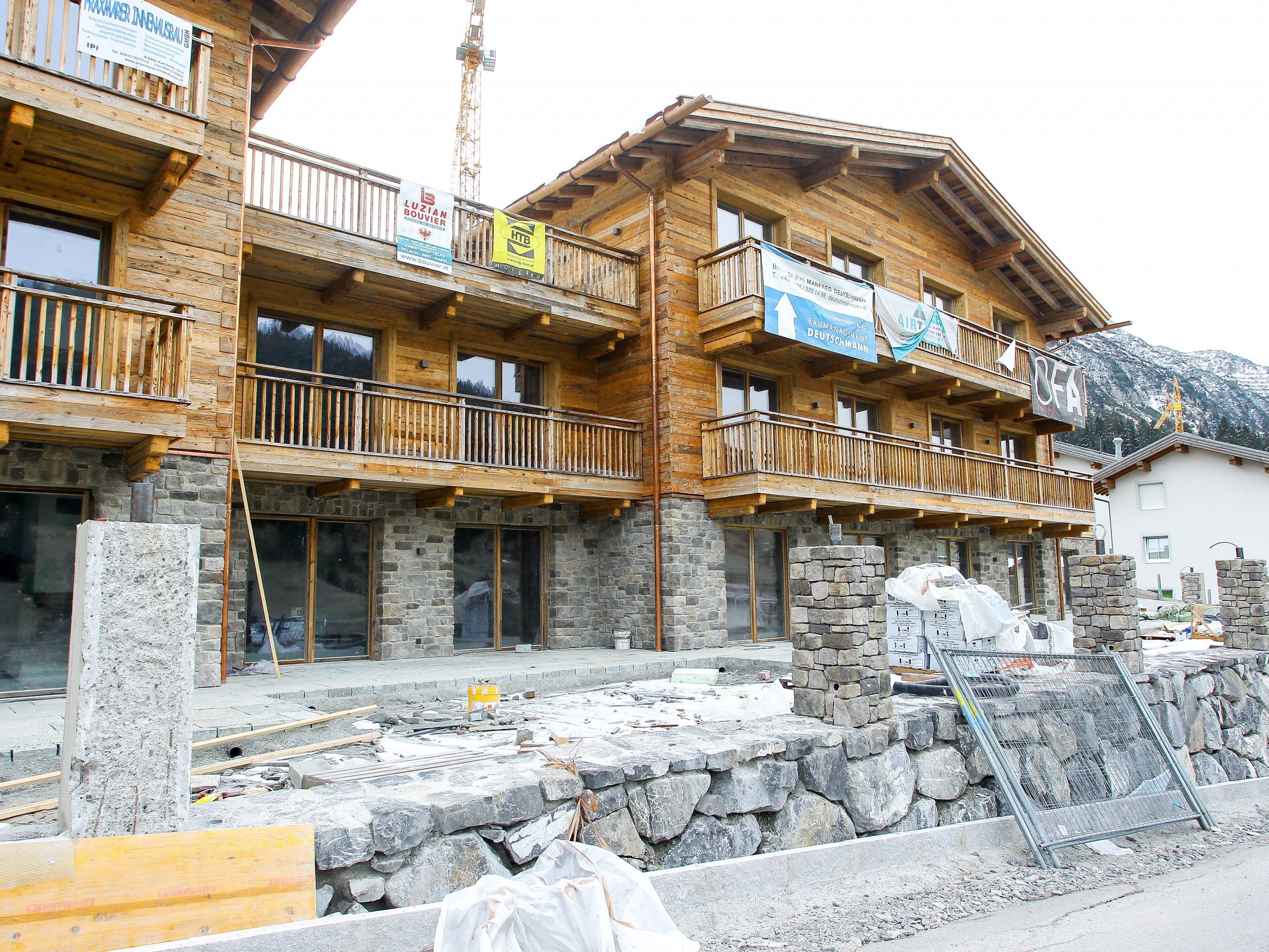 Die Bauarbeiten in Lech könnten bald fortgesetzt werden.