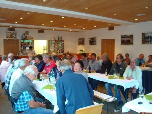 JHV des Pensionistenverband Mittel- u. Hinterwald
