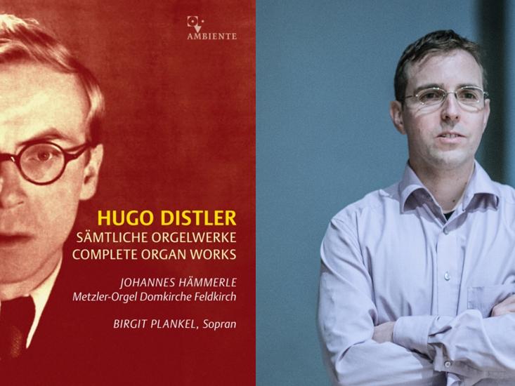 Domorganist Johannes Hämmerle lädt auf die Orgelempore zu einem interessanten Mix aus Information und Musik von Hugo Distler.