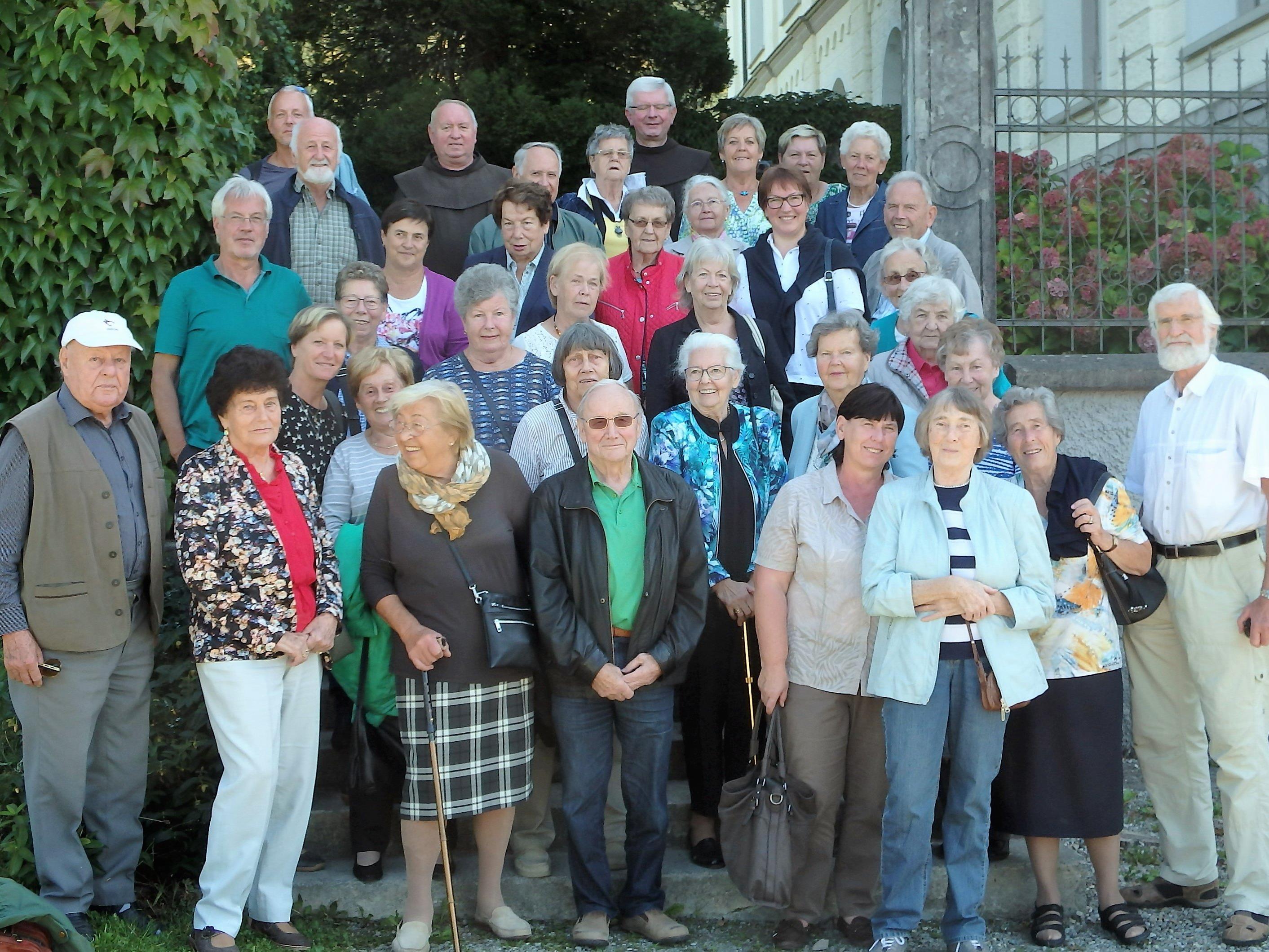 St. Antoniusbruderschaftsmitglieder Rungelin im Zisterzienserinnenkloster Mariastern-Gwiggen