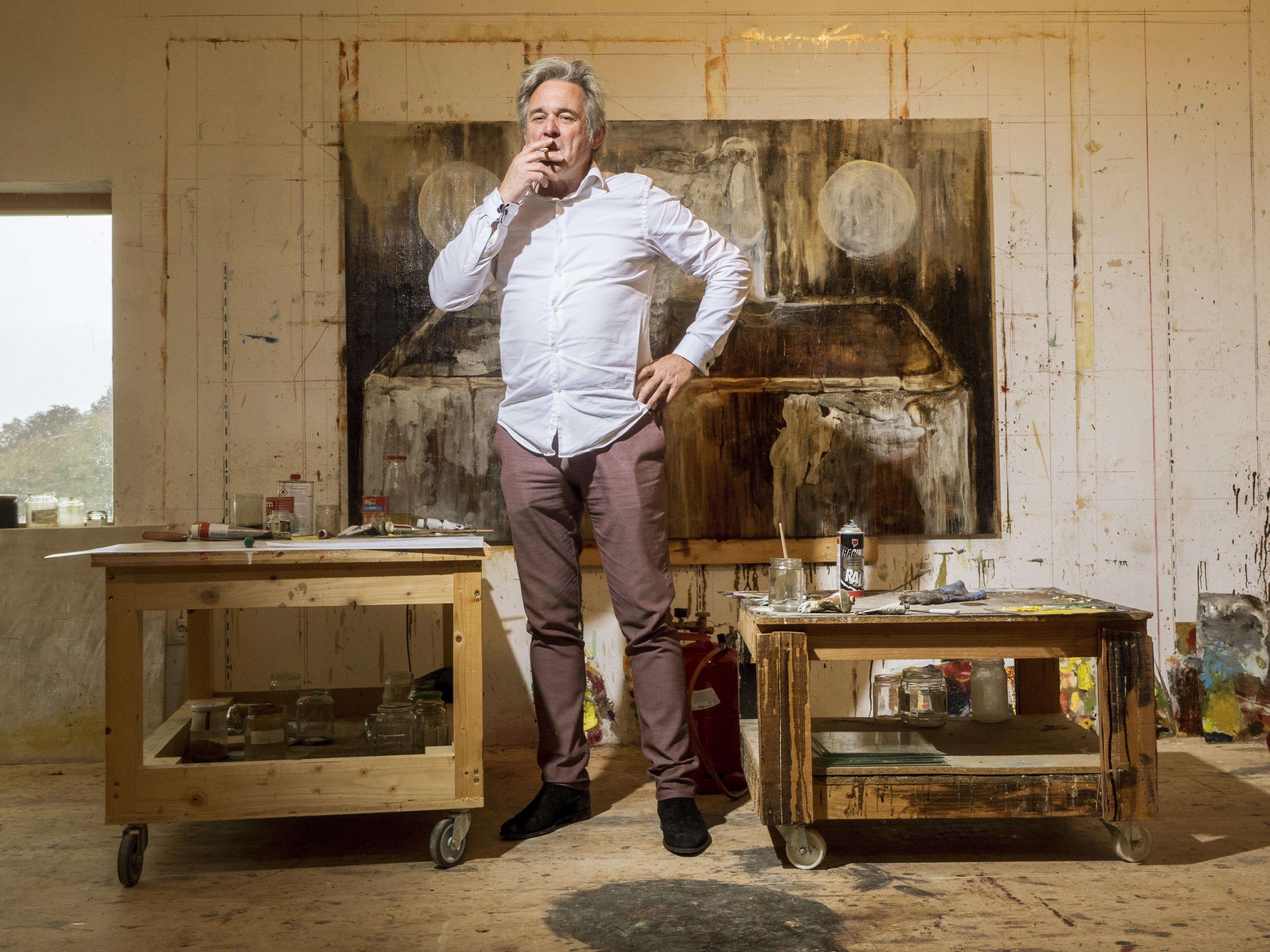 Ort des Geschehens: In seinem Atelier im Bregenzerwald entstehen viele von Paul Renners Ideen und Kunstwerken.